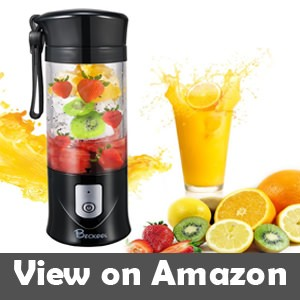 Portable Juicer Blender Beckool Travel Personal USB Mixer