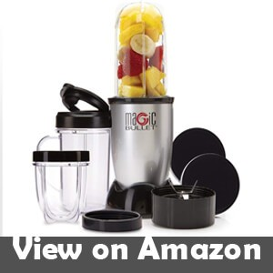Magic-Bullet-Blender,-Silver