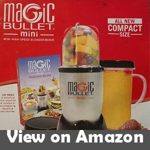 Magic Bullet Mini, High-Speed Blender, and Mixer