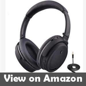 Avantree Active Noise Cancelling Bluetooth 4.1 Headphones