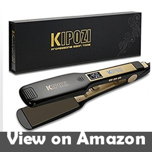 KIPOZI-Professional-Titanium-Flat-Iron-Hair-Straightener