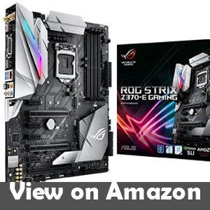ASUS ROG Strix Z370-E Gaming Z370 ATX Motherboard