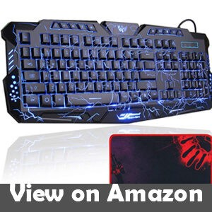BlueFinger Mechanical Computer Gaming Keyboard