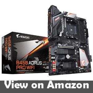 GIGABYTE B450 AORUS PRO WIFI AMD Ryzen Motherboard