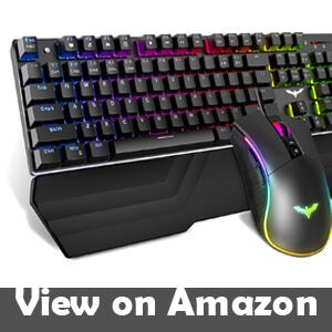 Havit Mechanical Keyboard and Mouse Combo RGB Gaming