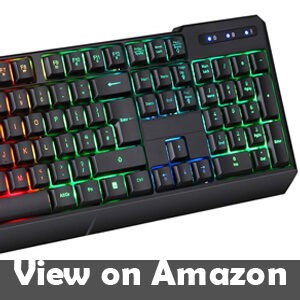 KLIM Chroma Rechargeable Wireless Gaming Keyboard