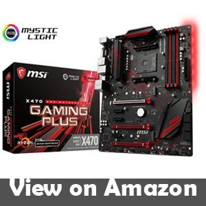 MSI Performance Gaming AMD X470 Ryzen 2 ATX Motherboard