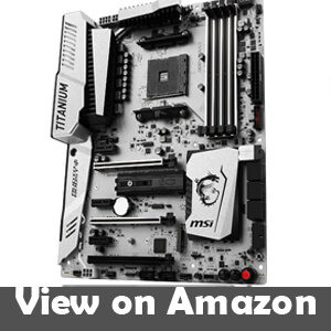 MSI X370 XPOWER Gaming Titanium AMD Ryzen ATX Motherboard