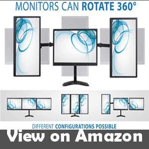 best triple monitor mount for ultrawide