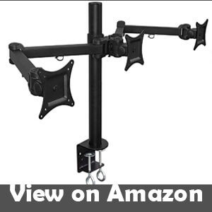 best triple monitor stand 24 inch
