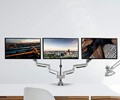 best triple mount monitor stand