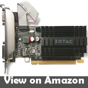 best low profile low power graphics card